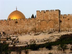 golden gate to east of Jerusalem
