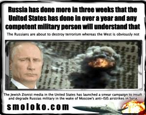 PutinRussiaAirstrikesISILmeme