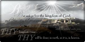 Kingdom of God verses chart