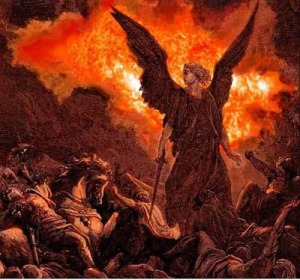 Prophet Isaiah angel Sennacherib army