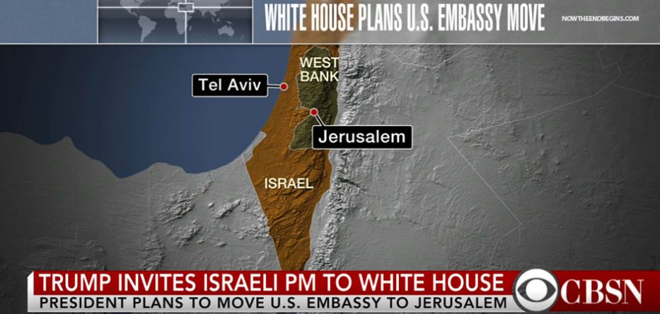 The Latest Word Is That President Trump Will Not Announce A Decision On The Us Embassy Move During His Trip To Israel See Eye Of Prophecy Article